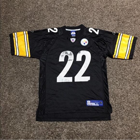 Pittsburgh Steelers #22 Duce Staley Jersey Reebok